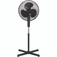 "Brentwood Koolzone 16"" Oscillating Stand Fan"