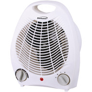 Brentwood Appliances Fan Heater (white)