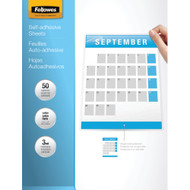 "Fellowes 9"" X 12"" Self-adhesive Laminating Sheets 50 Pk"