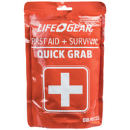 Life+gear 88-piece Quick Grab First Aid & Survival Kit