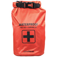 Life+gear 130-piece Dry Bag First Aid & Survival Kit