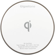 Gigastone Ga-9600 Qi Certified Fast Wireless Charger (white)