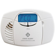 First Alert Battery-powered Carbon Monoxide Alarm With Backlit Digital Display