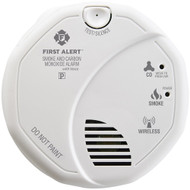 First Alert Wireless Interconnected Smoke & Carbon Monoxide Alarm With Voice & Location
