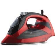 Brentwood Steam Iron With Auto Shutoff (red)