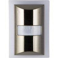 Ge 60-lumen Motion-boost Led Night Light (brushed Nickel)