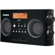 Sangean Digital Portable Stereo Receivers With Am And Fm Radio (black)