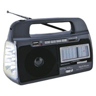 Supersonic 9-band Am And Fm And Sw1-7 Portable Radio