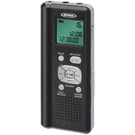 Jensen 4gb Digital Voice Recorder With Microsd Card Slot
