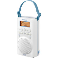 Sangean Am And Fm And Weather Alert Waterproof Shower Radio