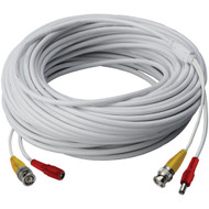 Lorex Video Rg59 Coaxial Bnc And Power Cable (250ft)