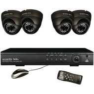 Security Labs 4-channel 960h 4-camera System