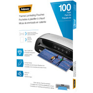 Fellowes Thermal Laminating Pouches 100 Pk (3 Mil)