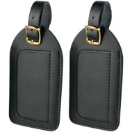Travel Smart By Conair Leather Luggage Tags 2 Pk