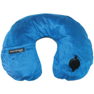Travel Smart By Conair Ez Inflate Fleece Neck Rest (navy)