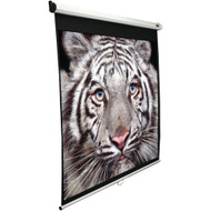 "Elite Screens 100"" Manual Pull-down B Series Projection Screen (1:1 Format; 71"" X 71"")"