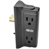 Tripp Lite Protect It! Surge Protector With 4 Side-mounted Outlets
