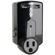 Tripp Lite Protect It 3-outlet Surge Protector With Usb Ports