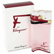 F By Salvatore Ferragamo Eau De Parfum Spray 3 Oz