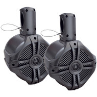 "Power Acoustik Marine-grade 8"" 750-watt Wake Tower Enclosure & Speaker System (titanium)"