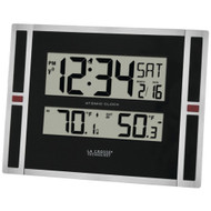La Crosse Technology Indoor And Outdoor Thermometer & Atomic Clock