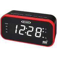Jensen Am And Fm Weather Band Clock Radio With Weather Alert