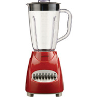 Brentwood 12-speed Blender With Plastic Jar (red)
