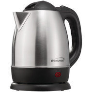 Brentwood 1.2-liter Stainless Steel Electric Cordless Tea Kettle