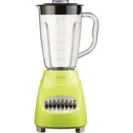 Brentwood 12-speed Blender With Plastic Jar (lime Green)