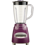Brentwood 12-speed Blender With Plastic Jar (purple)