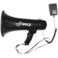 Pyle Pro 40-watt Professional Megaphone And Bullhorn With Siren & Auxiliary Jack