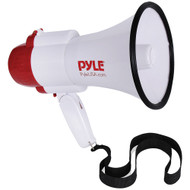 Pyle 30-watt Megaphone Bullhorn With Siren & Voice Changer Modes