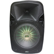 """Qfx 8"""" Rechargeable Bluetooth Party Speaker"""
