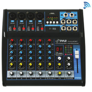 Pyle 6-channel Bluetooth Studio Mixer