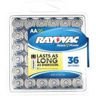 Rayovac Alkaline Batteries Reclosable Pro Pack (aa 36 Pk)