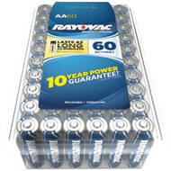 Rayovac Alkaline Batteries Reclosable Pro Pack (aa 60 Pk)