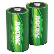 Rayovac Ready-to-use Rechargeable Nimh Batteries (d; 2 Pk; 3000mah)