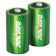 Rayovac Ready-to-use Rechargeable Nimh Batteries (c; 2 Pk; 3000mah)