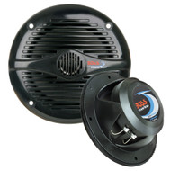 "Boss Audio MR50B 5.25"" Round Marine Speakers - (Pair) Black [MR50B]"