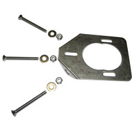 Lee's Stainless Steel Backing Plate f\/Heavy Rod Holders [RH5930]