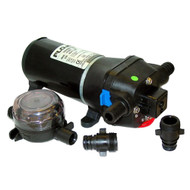 FloJet Heavy Duty Deck Wash Pump - 40psi\/4.3GPM\/12V [04325143A]