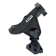 Scotty 280 Bait Caster\/Spinning Rod Holder w\/241 Deck\/Side Mount - Black [280-BK]