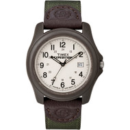 Timex Expedition Unisex Camper Brown\/Olive Green [T49101]