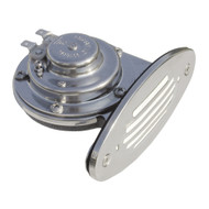 Ongaro Mini Single Drop-In Horn w\/SS Grill - 12V Low Pitch [10050]