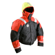 First Watch AB-1100 Flotation Bomber Jacket - Red\/Black - X-Large [AB-1100-RB-XL]