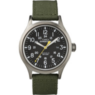 Timex Expedition Scout Metal Watch - Green\/Black [T49961]
