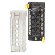 Blue Sea 5052 ST CLB Circuit Breaker Block - 6 Position w\/Negative Bus [5052]