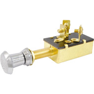 Attwood Push\/Pull Switch - Three-Position - Off\/On\/On [7594-3]