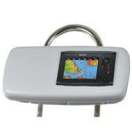 "NavPod GP1040-07 SystemPod Pre-Cut f\/Simrad NSS7 or B&G Zeus Touch 7 & Space On The Left f\/9.5"" Wide Guard [GP1040-07]"