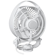 "Caframo Maestro 12V 3-Speed 6"" Marine Fan w\/LED Light - White [7482CAWBX]"